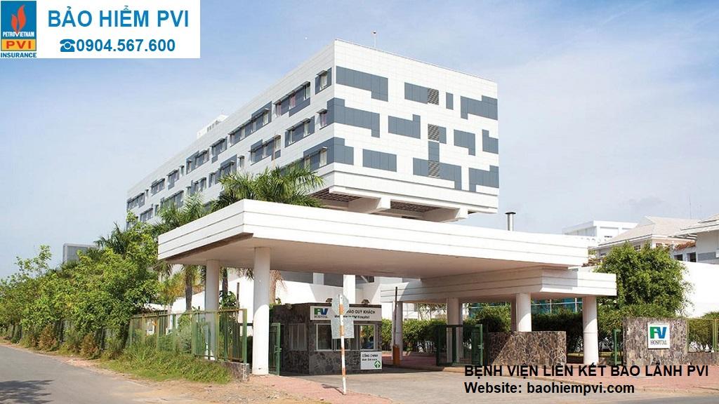 bệnh viện liên kết bảo lãnh pvi