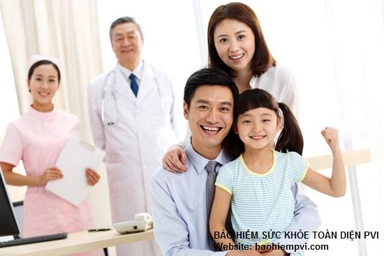 quyền lợi bảo hiểm sức khỏe pvi
